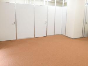 広々とした訓練室です。